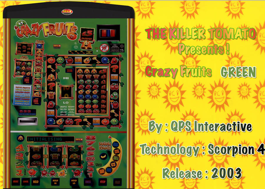 reel crazy fruit machine emulator
